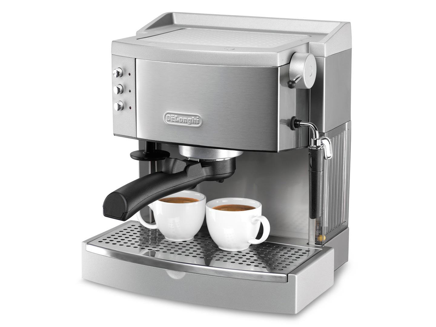 Delonghi ec702 15 bar pump espresso maker review techlogitic Coffee maker reviews 2016