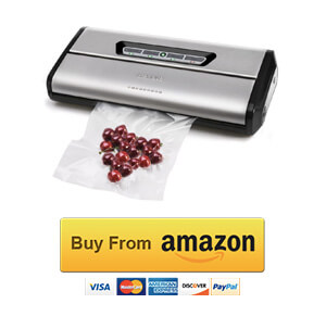 Crenova VS100S Plus Vacuum Sealer Bags Review