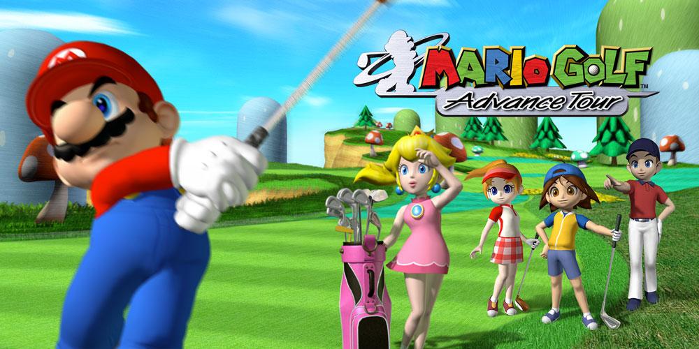 Mario Golf Advance Tour - most popular gba games