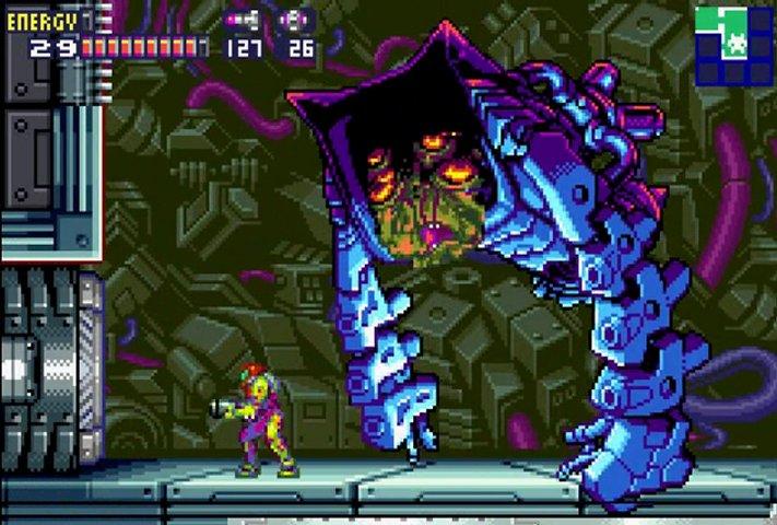 Metroid Fusion - top 25 gba games