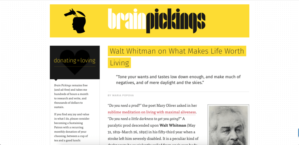 brain - interesting websites to visit