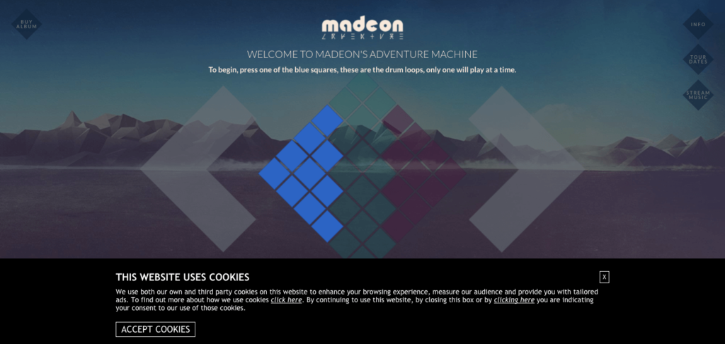 madeons - cool fun websites