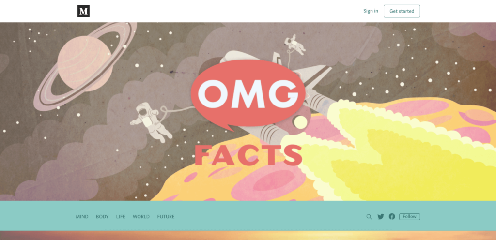 omgfacts - best interesting websites