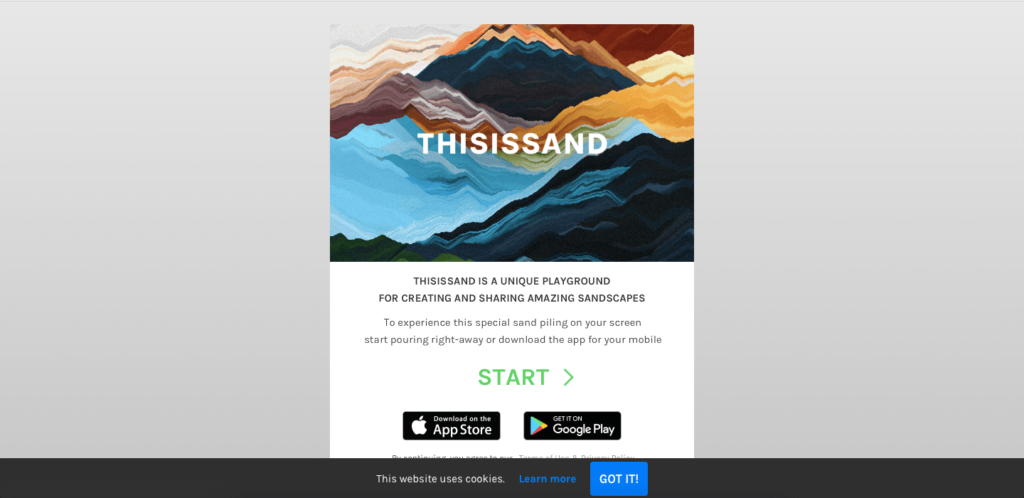 thisissand - list of cool websites