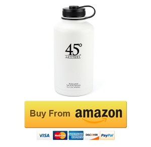 45 Degree Latitude Stainless Steel Beer Growler