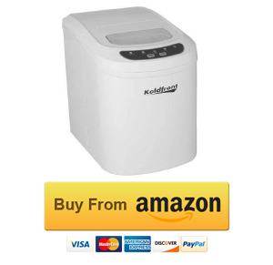 Koldfront KIM202W Ultra Compact Portable Ice Maker