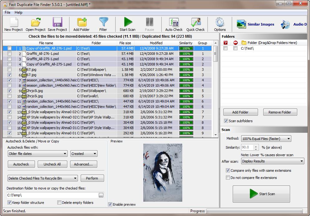 MindGems Duplicate File Finder