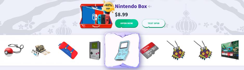 Nintendo Box