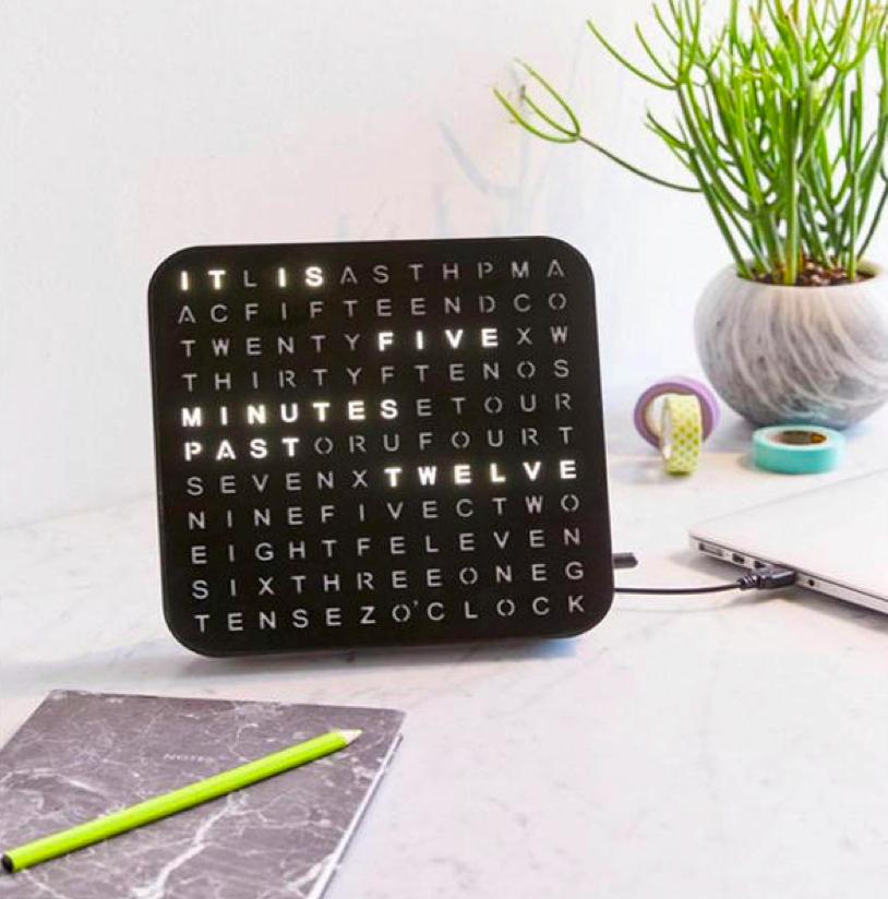 LED USB Word Clock