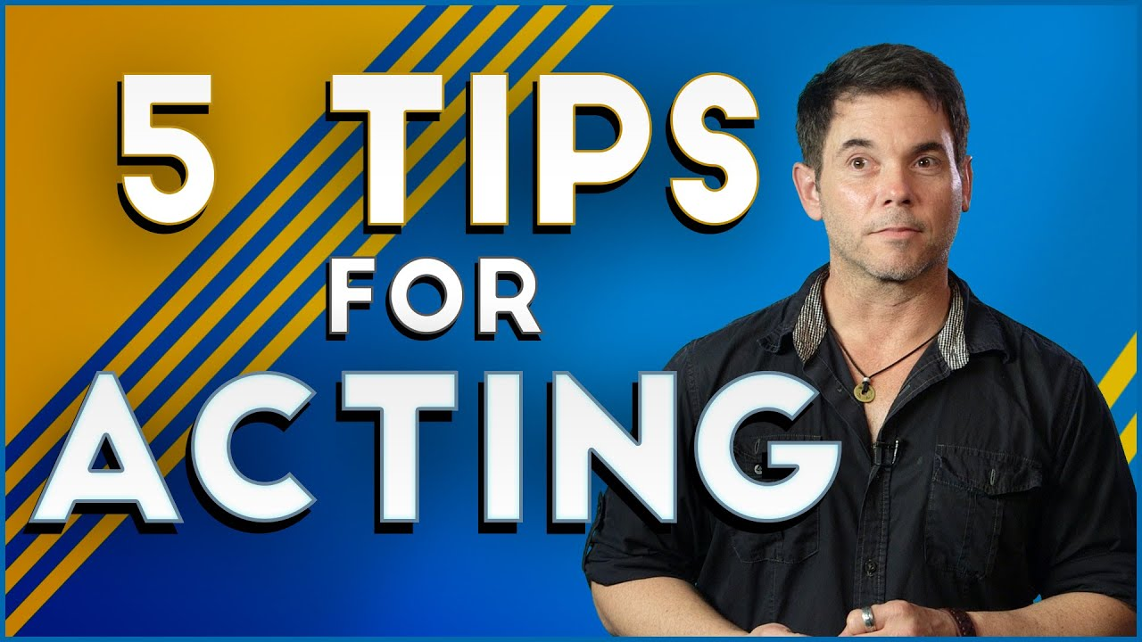 Best Tips If You Would Want to Be an Actor