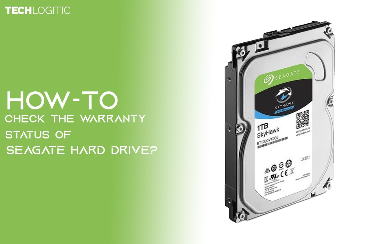 Check the Warranty Status of SEAGATE Hard drive