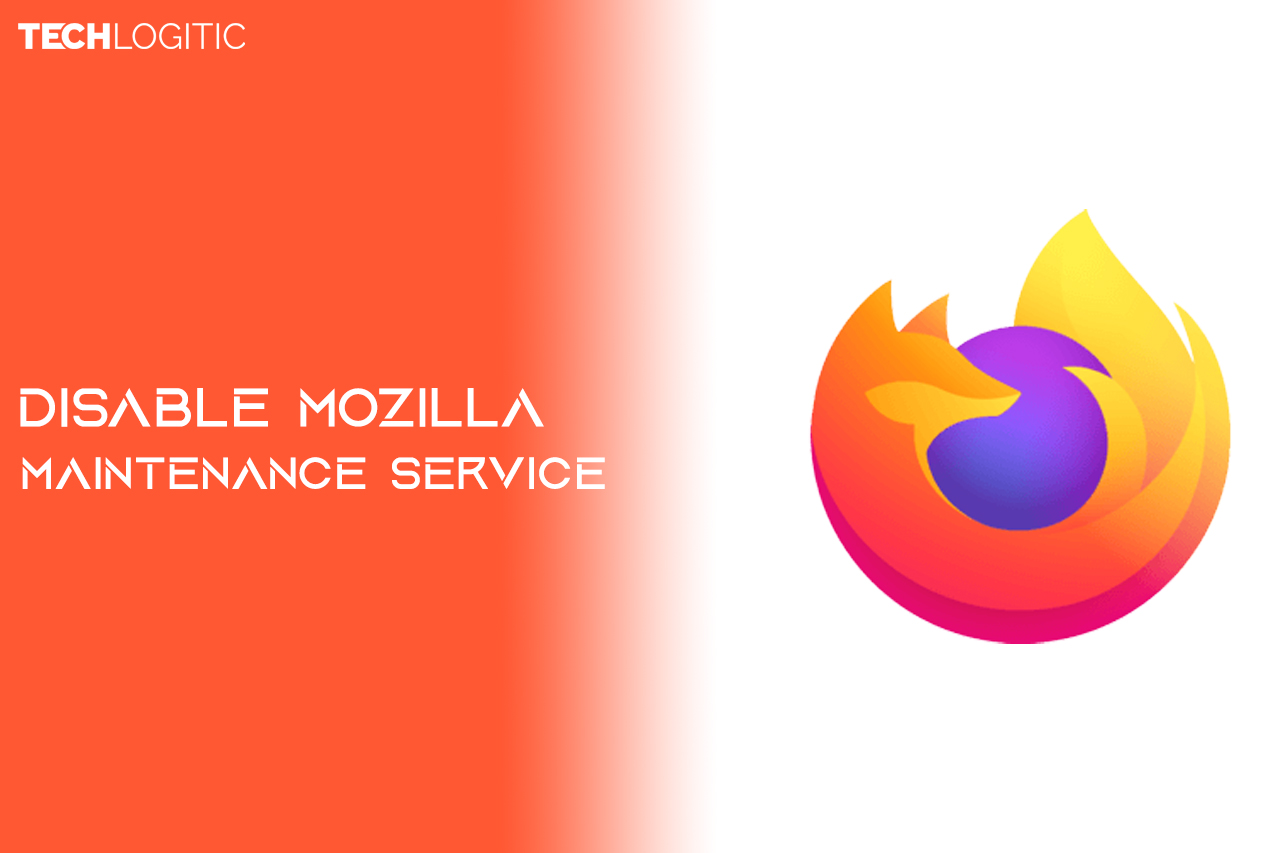 disable mozzila maintainance service