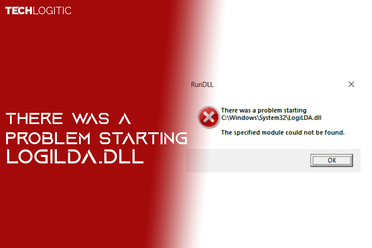 there was a problem starting logilda.dll