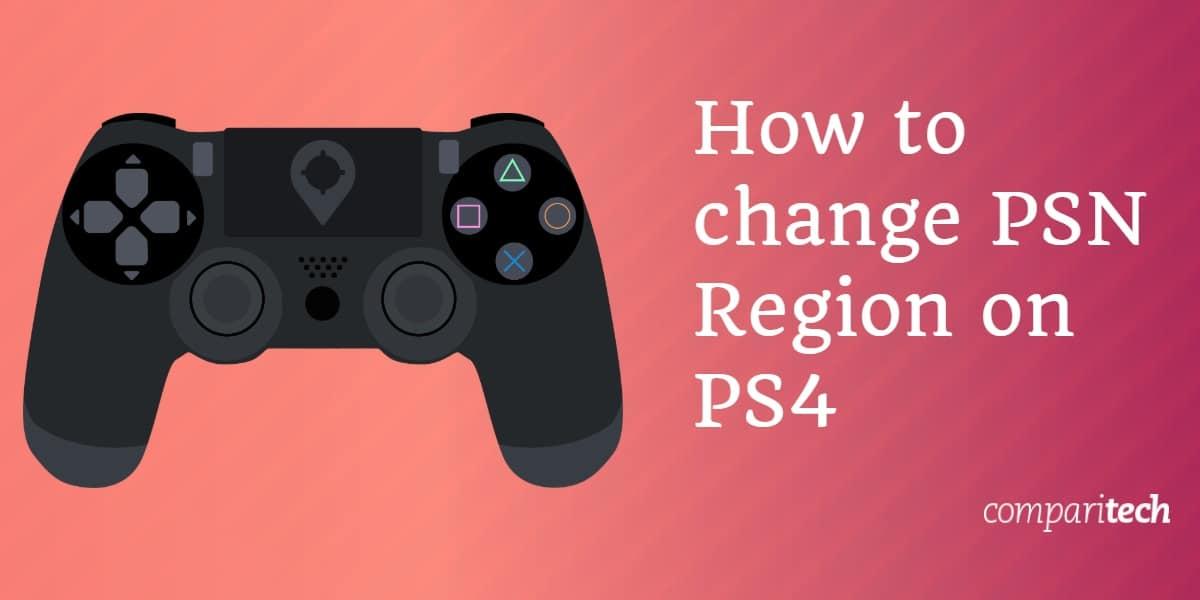 PSN Region On PlayStation 4
