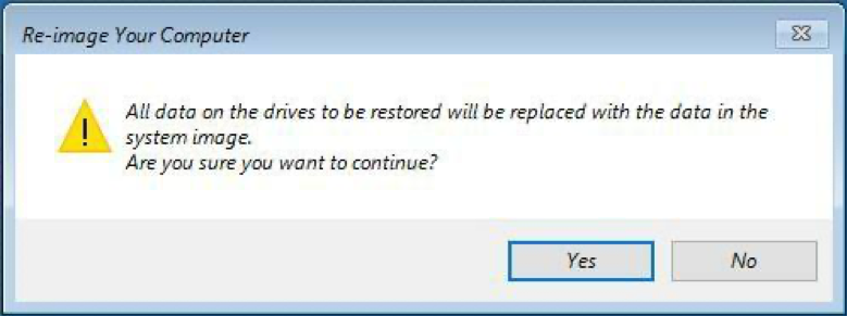 re-image your computer