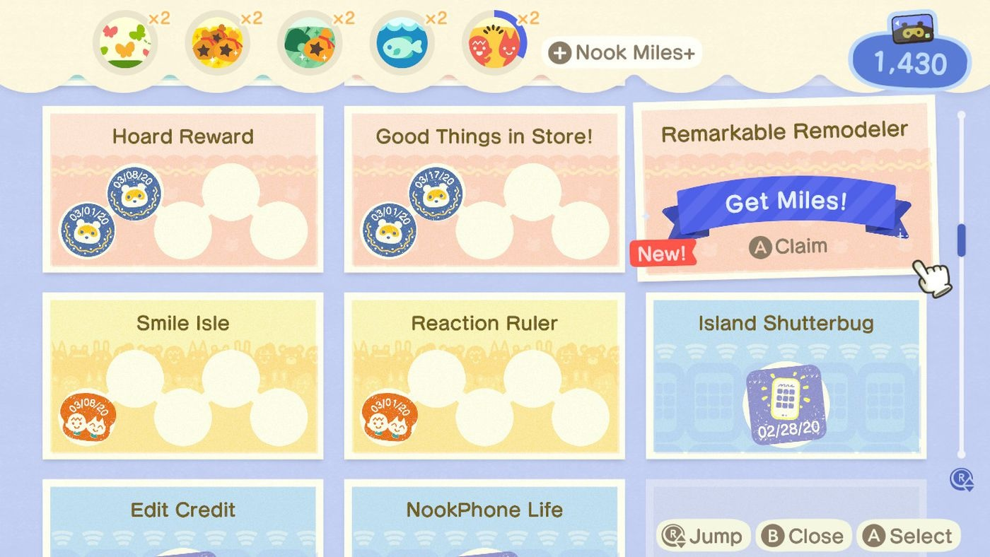 Horizons Nook Miles + Program Guide_1