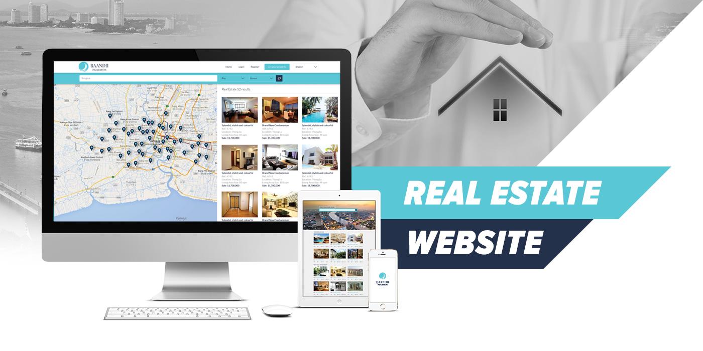 Real Estate Bookings Website