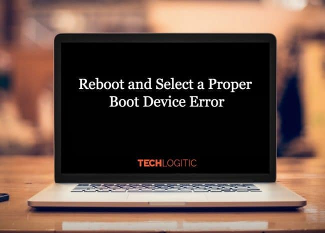 reboot and select proper boot device
