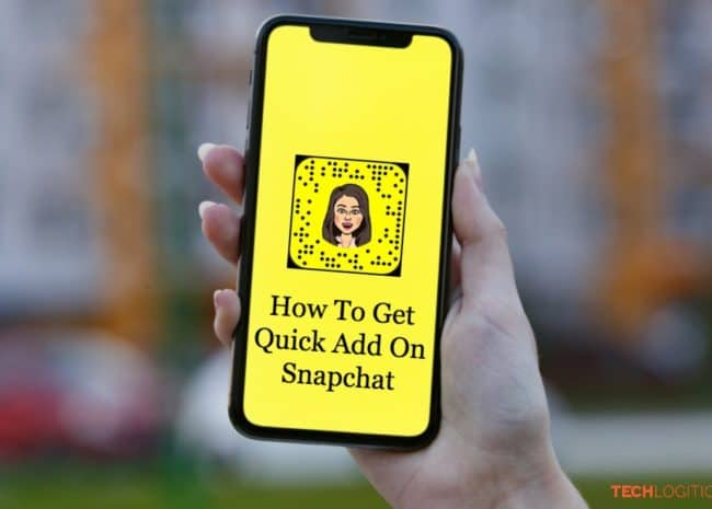 how to get quick add on snapchat