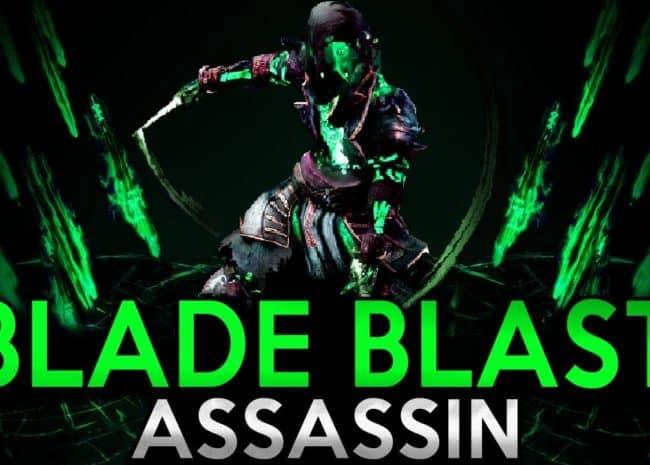 Bladefall Blade Blast Assassin