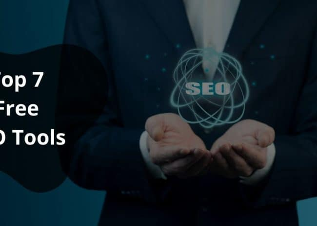 Featured Image - Top 7 Free SEO Tools