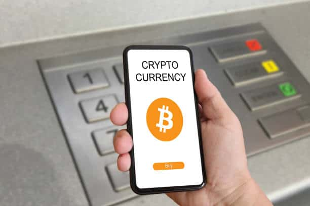 Bitcoin blockchain cryptocurrency mobile phone cyber internet e-banking