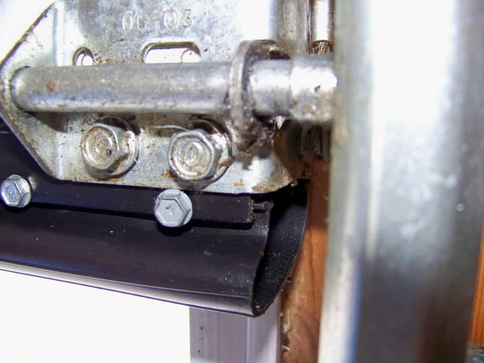 Garage Door Bottom Track Replacement