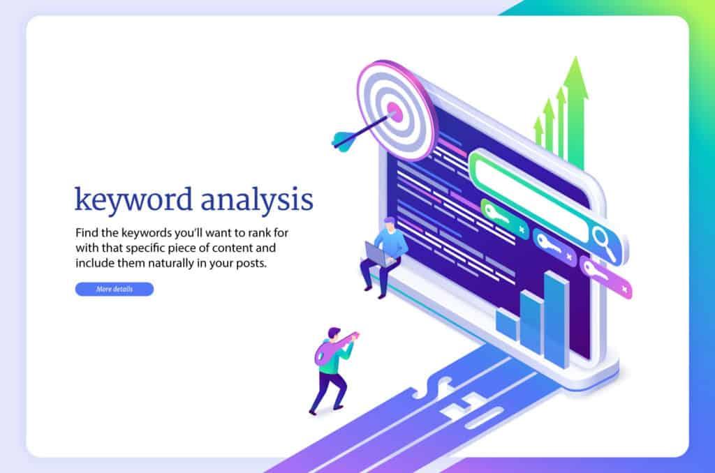Target specific keywords